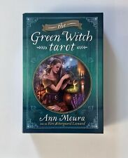 The Green Witch Tarot by Ann Moura - set kit gift box - deck of cards & book