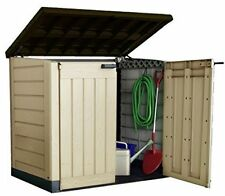Keter It out Max XL Plastic Storage Unit Shed Garden Tool Outdoor Patio 2