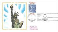 Francia - Liberty Island - Statua di la Libertà - 1986 - FDC