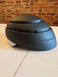 Closca Black and Gray Medium Lightweight Folding and Portable Helmet New