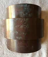 Vintage Handmade Solid Copper Metal Wall Sconce Light Fixture. ... FREE SHIPPING