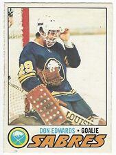 1977-78 OPC HOCKEY #201 DON EDWARDS ROOKIE - EX+/NRMT-