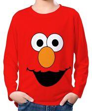 Elmo Kinder Jungen Langarm T-Shirt wc2 ael30033