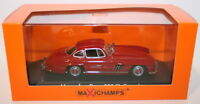 Maxichamps 1/43 Scale Diecast 940039001 Mercedes Benz 300Sl Coupe 1955 Red