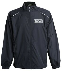 Forensic Science Investigator jacket, windbreaker, Reflective design,