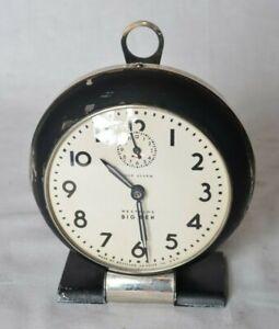 Vintage 1940's Big Ben Westclox Loud Alarm Clock Working