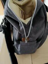 Wickelrucksack Grau Baby Kinderwagen Tasche