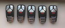 Lot of 5x Used AUDI 4M0.959.754.AK Smart Key Fob Keyless Remote Keyless Prox 433