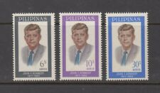 Philippine Stamps 1965 John F. Kennedy Complete set MNH
