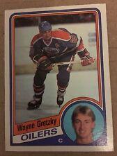 Wayne Gretzky 1984-85 Topps #51 Hockey Card NM/M Condition Edmonton Oilers 99
