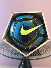 SOCCER BALL-NIKE PITCH-SIZE 4-2016-2017-BLUE / BLACK IN COLOR-NEW-IN THE BOX-