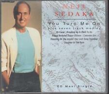 NEIL SEDAKA You Turn Me On CD UK Polydor 1992 3 Track B/W Medley Mix and Stupid