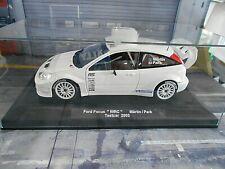 FORD Focus RS MKI WRC 2003 Rallye Testcar Test Märtin white weiss UMBAU 1:18