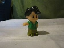 Fisher Price Little People Restaurant Pizza shop Koby boy green shirt Man cousin