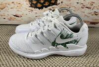 Nike Air Zoom Vapor X GC White Clover Green Tennis Shoe AQ1730-102 Men Size 10.5