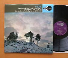 ECS 570 Nielsen Symphony no. 1 & 5 Jensen Danish Radio Symphony NM/EX Decca
