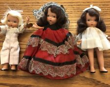 Storybook Dolls, Vintage (1950s), 5½ inches, Lot of 3