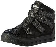 Skechers Kids Step up Crisscross Craze Sneaker Black/Black 3 M US Little Kid