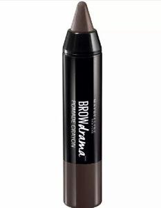 Maybelline Brow Drama Pomade Crayon DARK BROWN - New