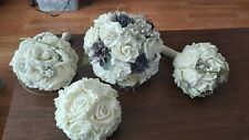 Wedding Flowers- Rose and Thistle