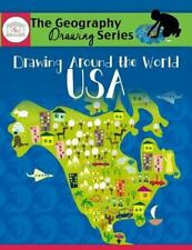 Drawing Around the World: USA: Geography for Kids (Paperback or Softback)