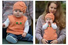 Tejer patrón-Wise Owl Chaleco de bebé (tamaños de bebé)
