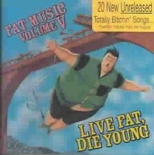 Live Fat Die Young 0751097061329 by Various Artists CD