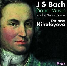 J.S. Bach: Piano Music Italian Concerto CD Tatiana Nikolayeva Regis Records 2007