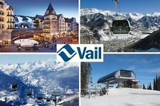 SOUVENIR FRIDGE MAGNET of VAIL COLORADO USA SKIING