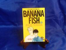Manga BANANA FISH Vol. 19 Akimi Yoshida, Flower Comics (Japanese) Anime