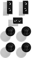 Polk Surround System: Pair of 265rt, One 255crt In-wall Front, 2pairs 70rt (Bund