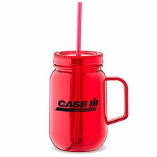 Case IH 18 oz. Red Acrylic Mason Jar Style Mug