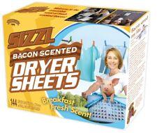 SIZZL BACON Scented Dryer Sheets  - Prank Fake Funny PARODY Joke Gift Box