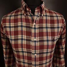 Polo Ralph Lauren Mens Vintage Shirt 5XL Long Sleeve Regular Fit Check BLAKE