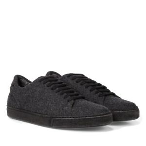 Vince Noble Sneakers Charcoal Wool Felt Sz. 11