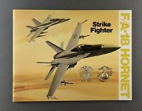 MCDONNELL DOUGLAS F/A-18 HORNET STRIKE FIGHTER MANUFACTURERS SALES BROCHURE