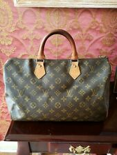 Louis Vuitton Beautiful Vintage Speedy 35 Bag Monogram 851 MB Read Description