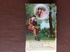 B1K postcard unused ww1 song card make me the king of your heart no 3 i dream of