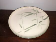 "Winfield BAMBOO Set of 2 Round Dinner Plates 10 1/4"" Vintage Green"