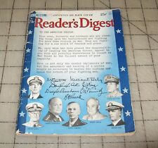 READER'S DIGEST (June 1945) Good- Condition Magazine - Generals on Cover