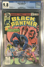 Black Panther #14 CGC 9.8 Universal OW/White (Mar 1979, Marvel) Case Perfect