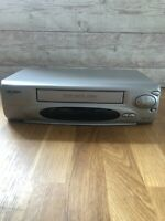BUSH VCR VHS VIDEO CASSETTE RECORDER VCR925NSIL Silver Tested And Working