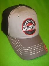 PETERBILT HAT          CLASS PAYS / PATCH / TRUCKERS CAP / FREE SHIPPING IN USA