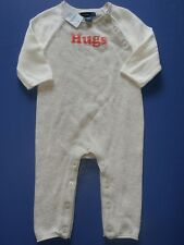 Baby Gap Sweater Knit Romper 3 6 MO HUGS Boy Girl Unisex NWT NEW