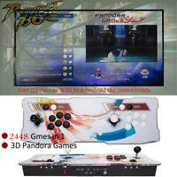 2020 Upgraded Pandora Box Games 2448 in 1 Retro Arcade Console Double Stick NEW
