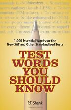 Test Words You Should Know: 1,000 Essential Words