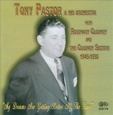 """""""Pastor, Tony & His O""""-My Dreams Are Getting Better All The Tim CD NEW"""