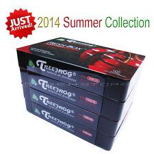 4 PACK TREEFROG FRESH BOX BLACK CHERRY SCENT CAR AIR FRESHENER TRBC58