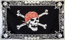 Skull and Cross Bones 3x5 Novelty Flag Banner
