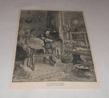 1895 magazine engraving ~ EDOUARD PAILLERON, French Dramatist